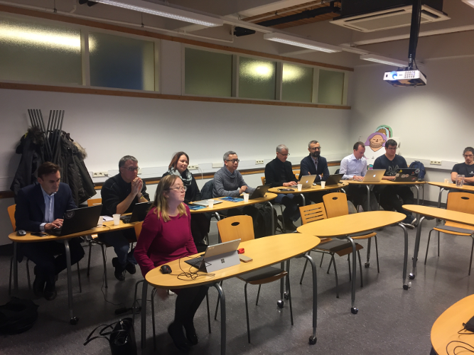 standardisation workshop Turku